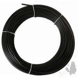 Gaine plastifiée 1.5m Ø: ext: 5mm Ø int: 1,2/1,6mm