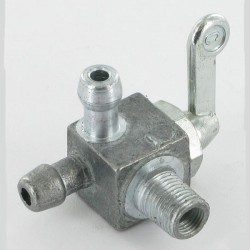 Robinet carburant M10x1 2X 8mm