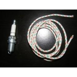 Bougie culot long + corde Pour GX120/160/200