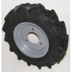 Roue complète 350x8 3 trous 110mm