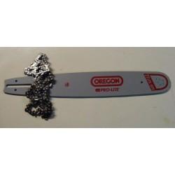 Guide + Chaine pour 491     45cm/325/1.3mm/72M