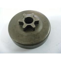Cloche Pignon de chaine Pas 3/8 Intérieur 65.5mm 6dents