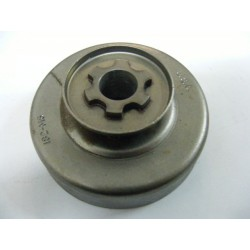 Cloche Pignon de chaine Pas 3/8 Intérieur 65mm 6 dents