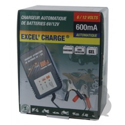 CHARGEUR BATTERIES 6/12V 600MA XL600
